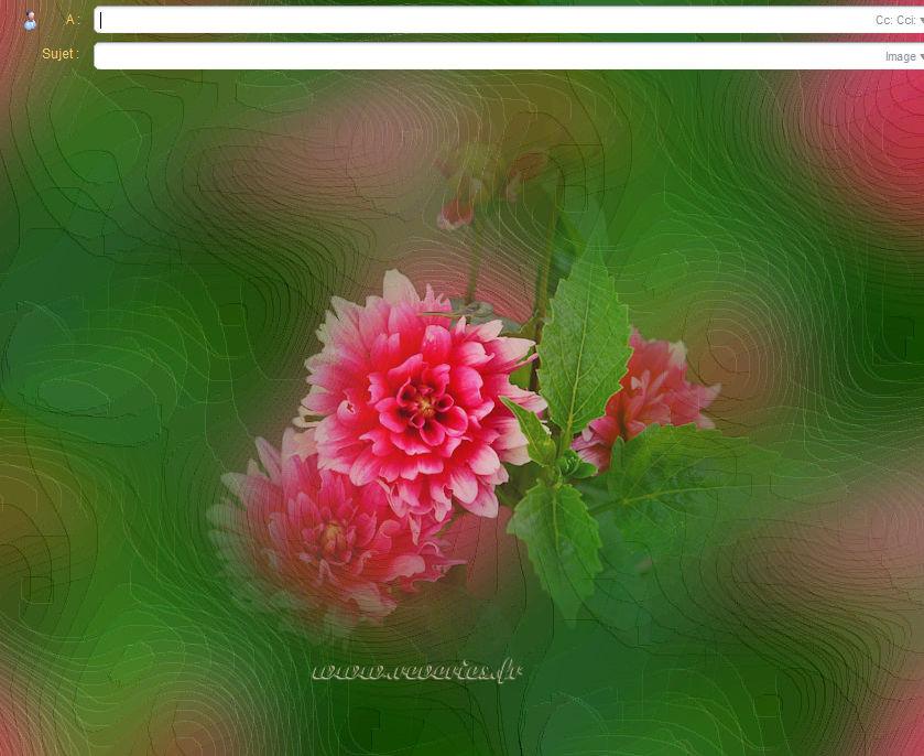 Fleurs - Special_incredimail - papiers_a_lettres - Reveries.fr